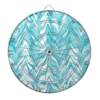 zigzag, watercolor, elegant, stylish dartboard