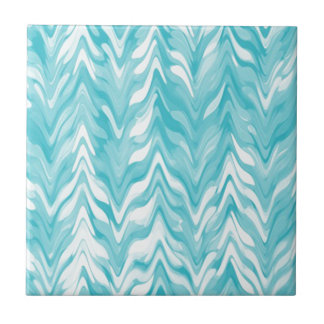 zigzag, watercolor, elegant, stylish tile