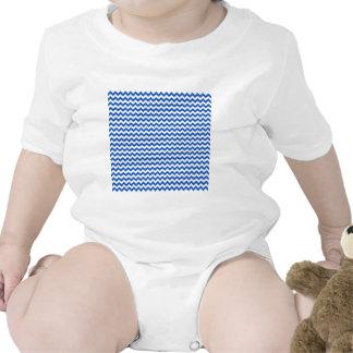 Zigzag Wide  - White and Sapphire Creeper