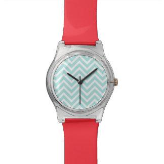 zigzag wristwatch