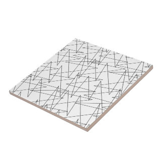 Zigzags Tile