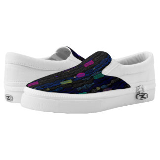 Zigzags vertical from lines Slip-On sneakers