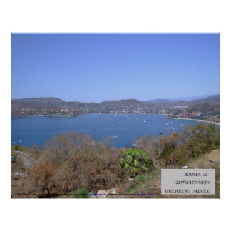 Zihuatanejo Bay - Poster