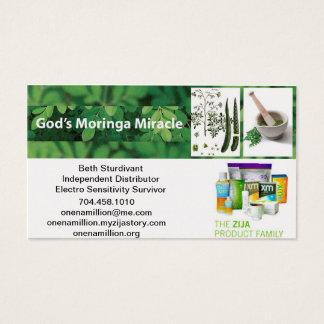 Zija Independent Distributor Business Card
