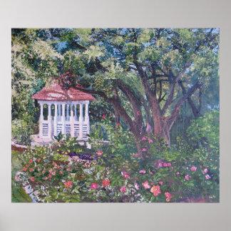 Zilker Park's Mabel Davis Rose Garden Poster