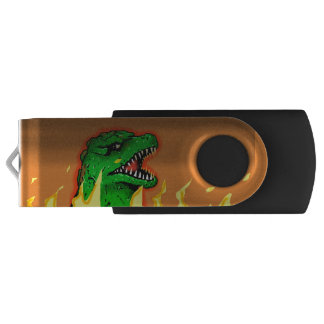 ZILLA GIANT LIZARD MONSTER by Jetpackcorps USB Flash Drive