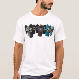 ZIMAD DAY OF THE DEAD SPRAYCAN SHIRT