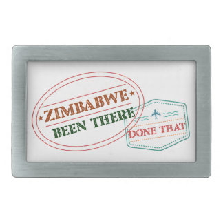 Zimbabwe Been There Done That Belt Buckle