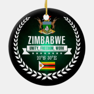 Zimbabwe Ceramic Ornament