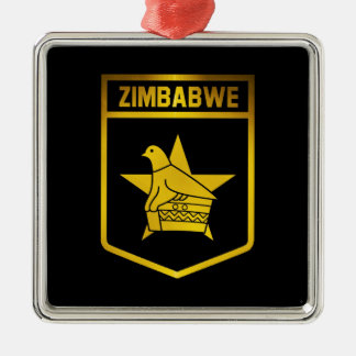 Zimbabwe Emblem Metal Ornament