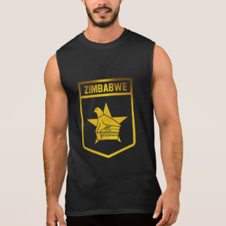 Zimbabwe Emblem Sleeveless Shirt