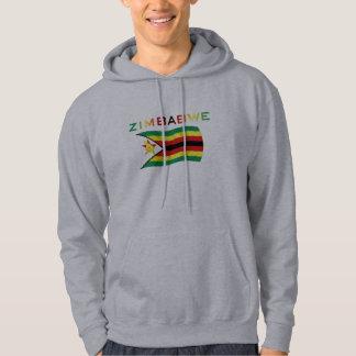 Zimbabwe Flag 3 Hoodie
