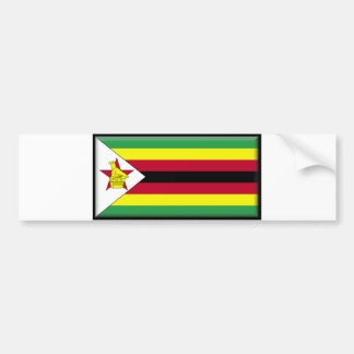 Zimbabwe Flag Bumper Sticker