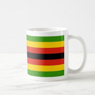 Zimbabwe Flag Coffee Mug