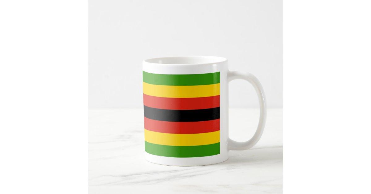 zimbabwe flag coffee mug  zazzleca