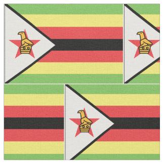 Zimbabwe Flag Fabric