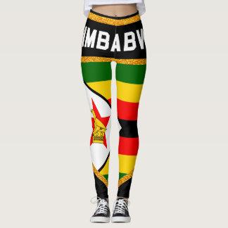 Zimbabwe Flag Leggings