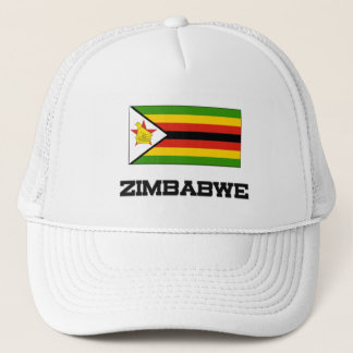 Zimbabwe Flag Trucker Hat