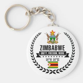 Zimbabwe Keychain