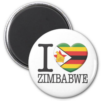Zimbabwe 2 Inch Round Magnet