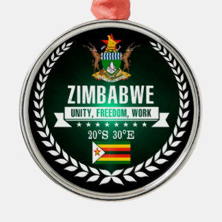 Zimbabwe Metal Ornament