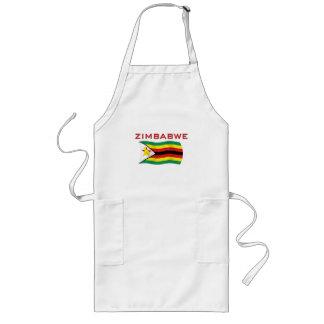 Zimbabwe National Flag (1) Long Apron