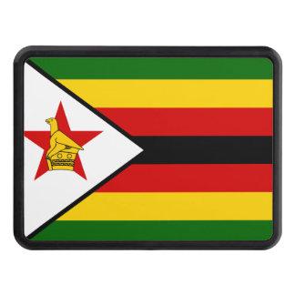 Zimbabwe National World Flag Trailer Hitch Cover