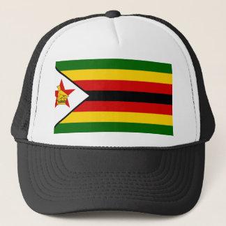 Zimbabwe National World Flag Trucker Hat
