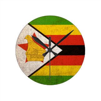 Zimbabwe Round Clock