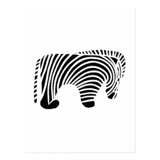 Zimbabwe Zimbabwe Zebra Postcard