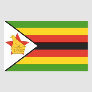Zimbabwe/Zimbabwean Flag Sticker