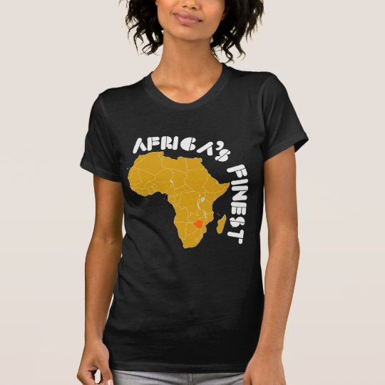 Zimbabwean Map Designs T-Shirt