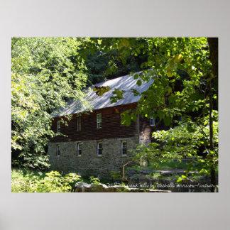 Zimmerman mill, Minisink Hills Pa Poster