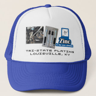 ZINC IS THE NEW CHROME / SHOCK TRUCKER HAT