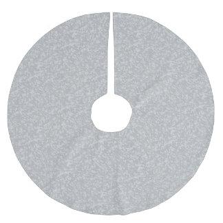 Zinc Plate Background Brushed Polyester Tree Skirt