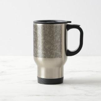 Zinc Plate Background Travel Mug