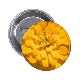 Zinnia 2 Inch Round Button