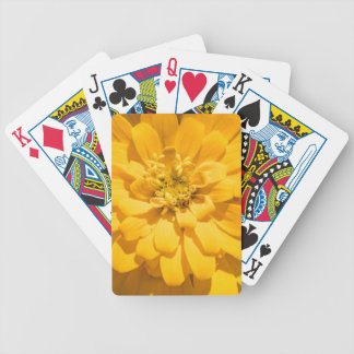 Zinnia Bicycle Playing Cards