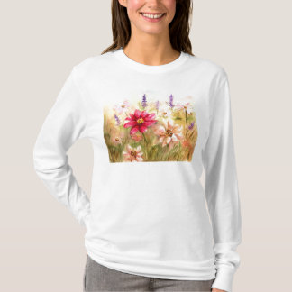 Zinnia Garden T-Shirt
