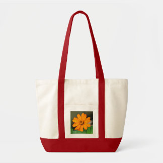 Zinnia Profusion Orange Tote Bag