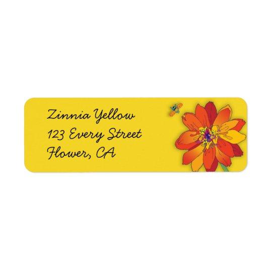 'Zinnia Yellow'