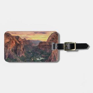 Zion Canyon National Park Bag Tag
