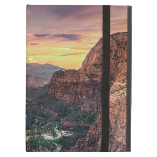 Zion Canyon National Park iPad Air Cover