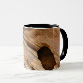 Zion Canyon Wall I Abstract Nature Photography Mug