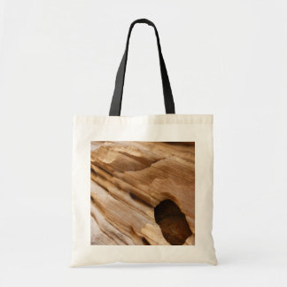 Zion Canyon Wall I Abstract Nature Photography Tote Bag