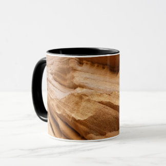 Zion Canyon Wall II Red Rock Abstract Photography Mug