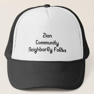 Zion Community Gordo Alabama Cap Trucker Hat
