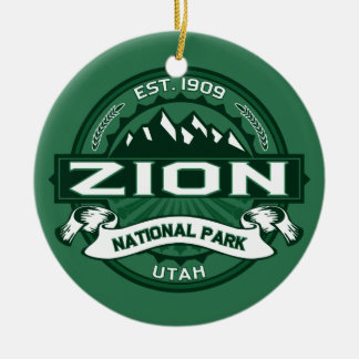 Zion Forest Ceramic Ornament