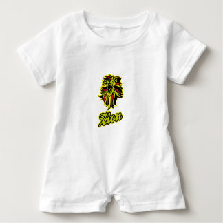Zion. Iron Lion Zion HQ Edition Color Baby Romper