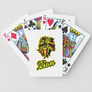 Zion. Iron Lion Zion HQ Edition Color Bicycle Playing Cards